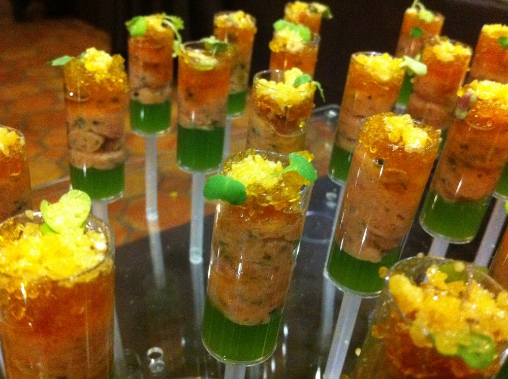 Lobster/Cucumber/Yuzu Push-Pops
