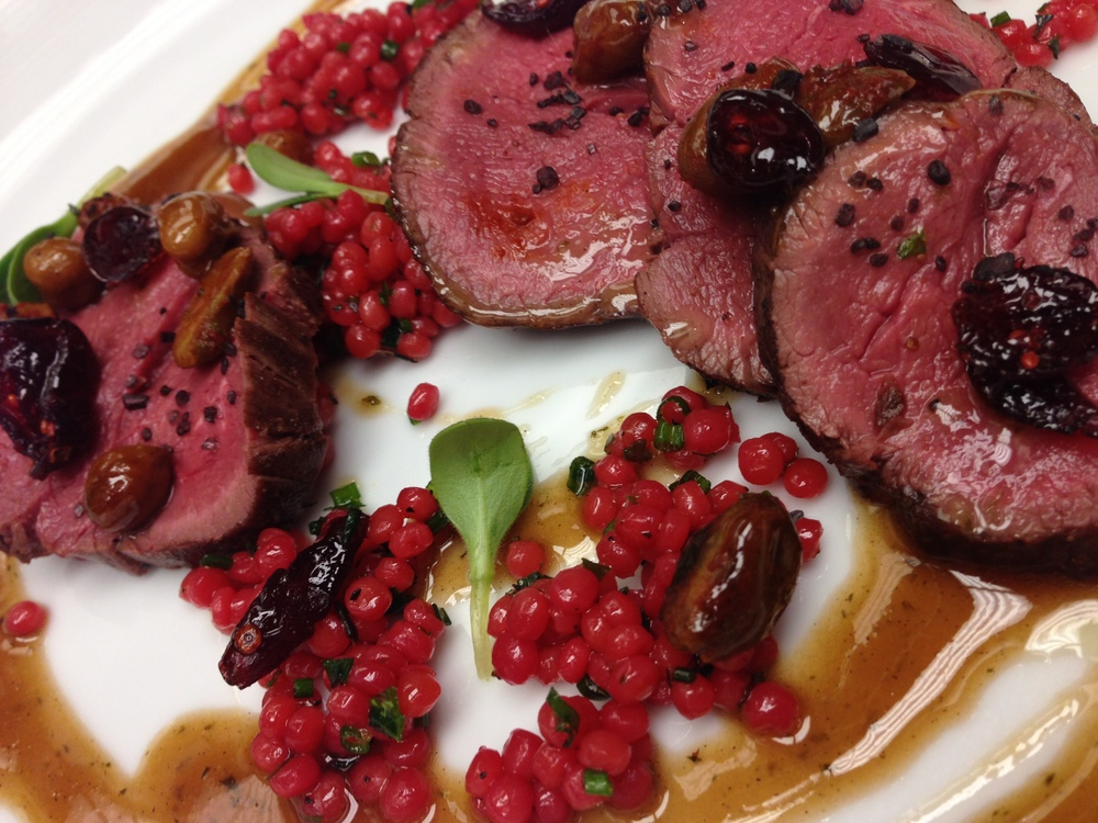 Venison & Pomegranate