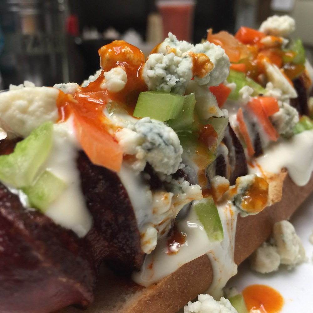 Buffalo Blue Cheese Dog