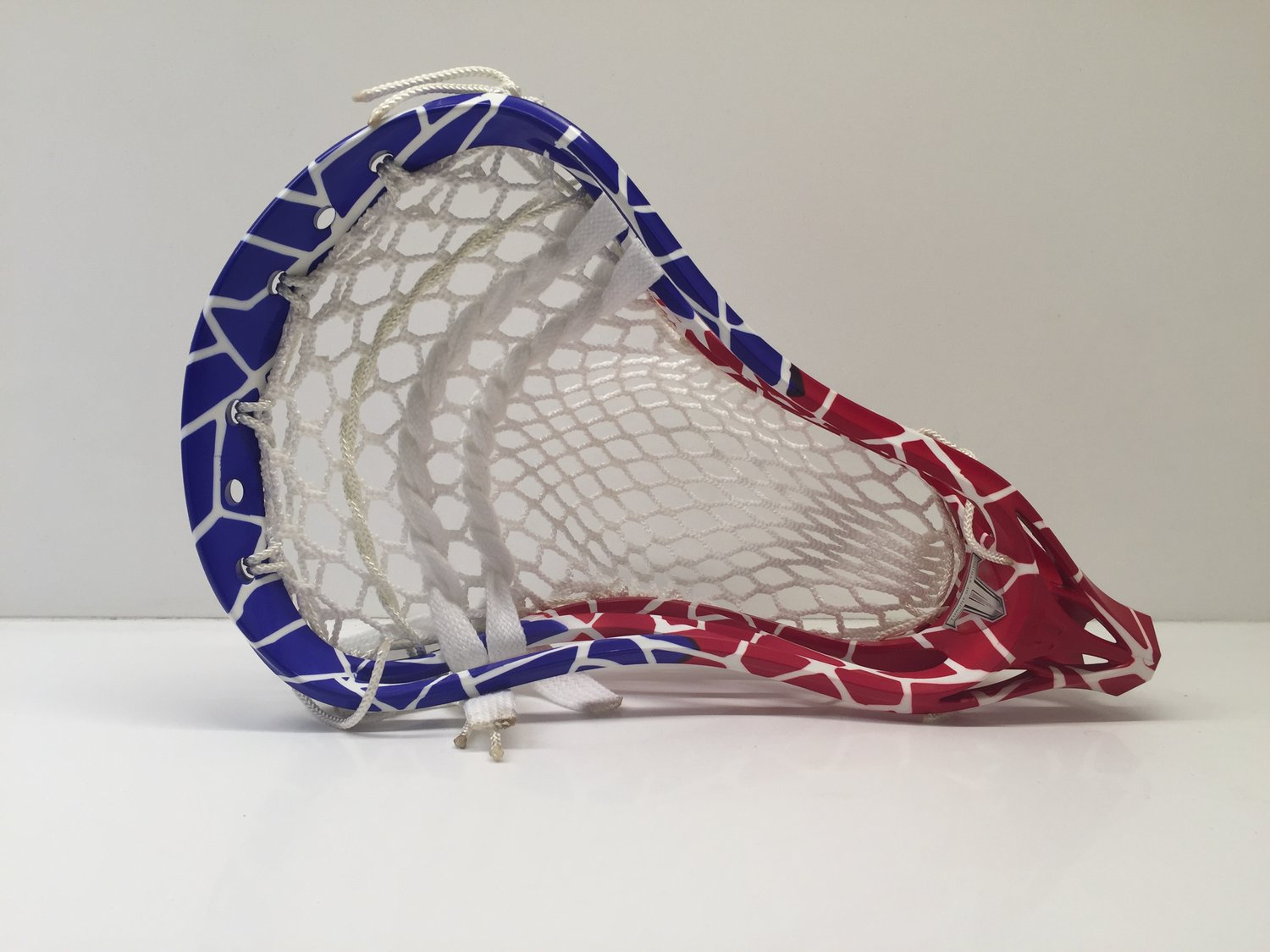 Evo 4 Hs Dyed Red And Blue With Semi Soft Performance Mesh