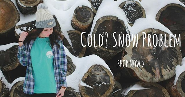 Looking for your spring apparel on a Snow Day? S'No problem 😉 we've got you covered. ❄Link in bio.