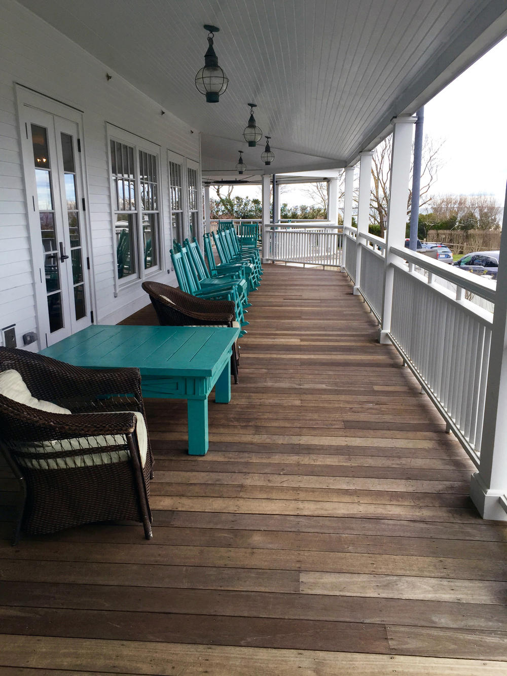 Harbor View Hotel porch