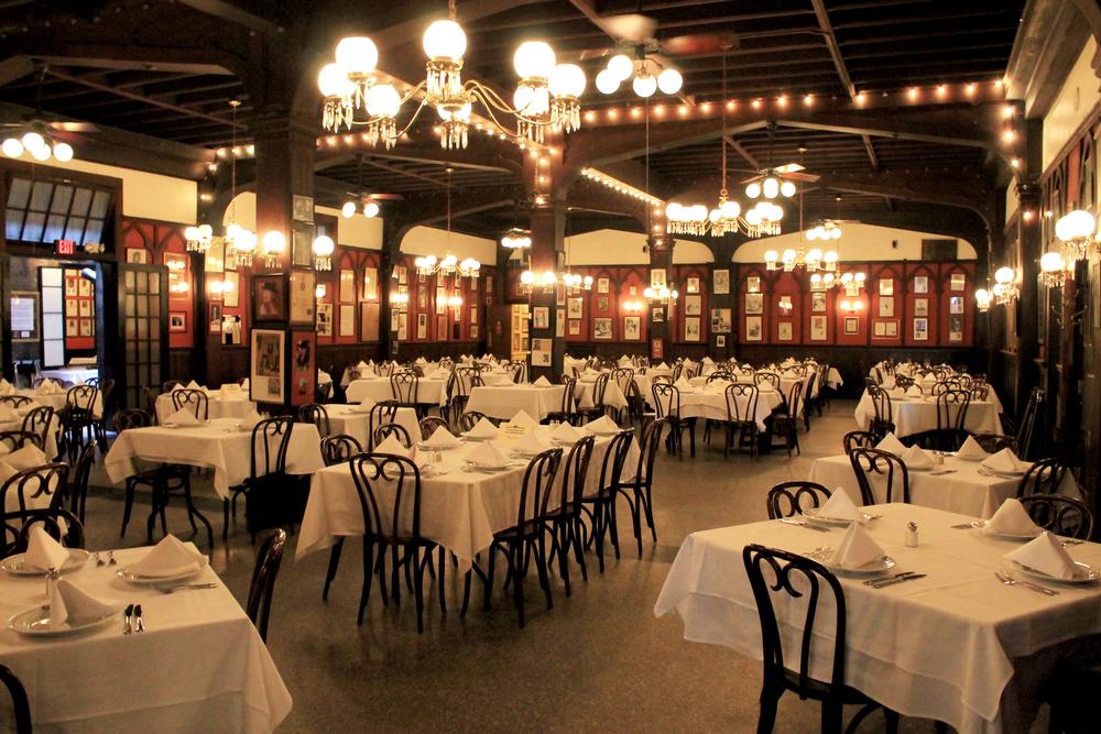 Inside of Antoine's