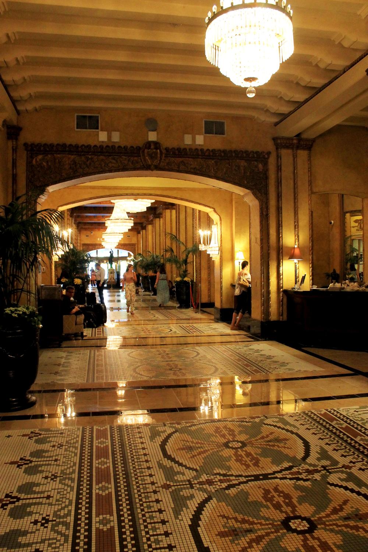 The Roosevelt's lobby