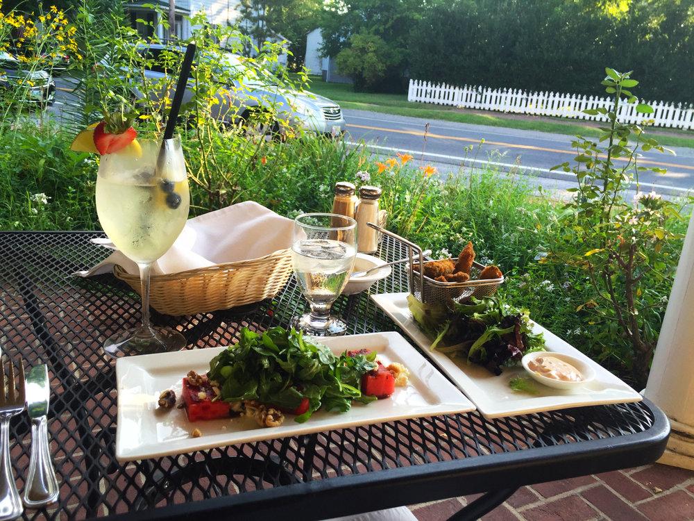 Dinner at the Robert Morris Inn