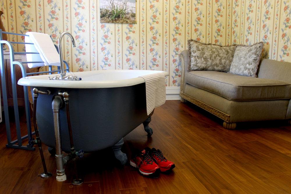 Perfect post-run tub
