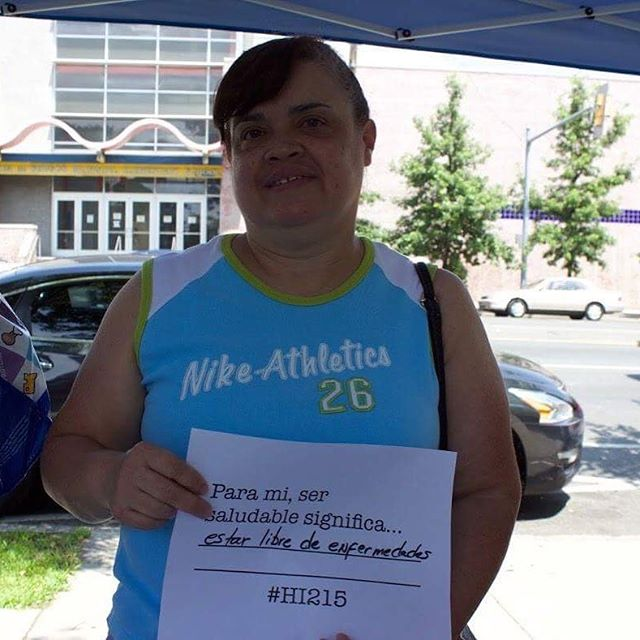 """Para mi, ser saludable significa estar libre de enfermedades."" ""For me, being healthy means being free of disease."" #HI215 @tdbank_us"