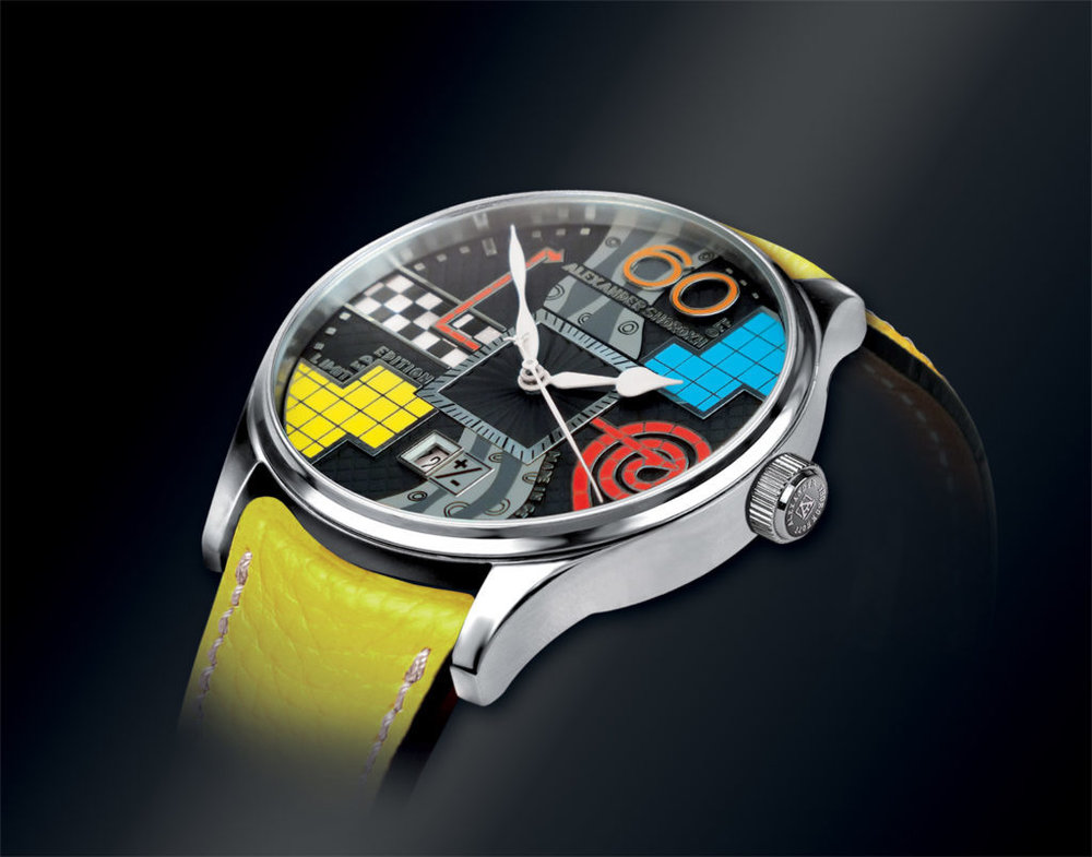 Plus Minus Watch from AVANGARDE Collection