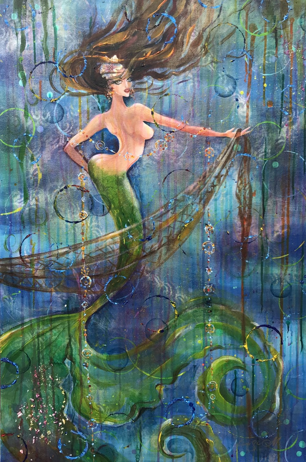 Mermaid 24X36