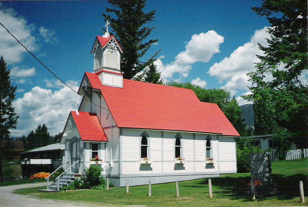 Part of Windermere Valley Shared Ministries along with Invermere and Edgewater