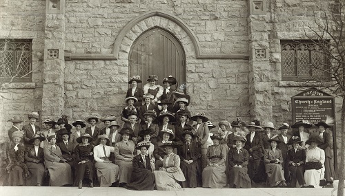 women's auxiliary at st. saviour's pro-cathedral, nelson 1912