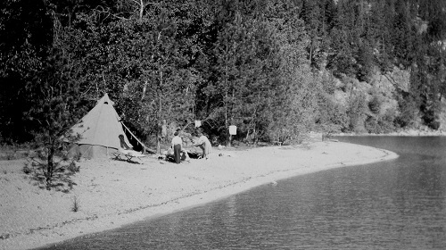 camp owaissi in 1950