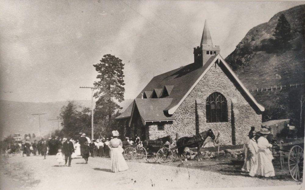 st. stephen's, summerland circa 1910