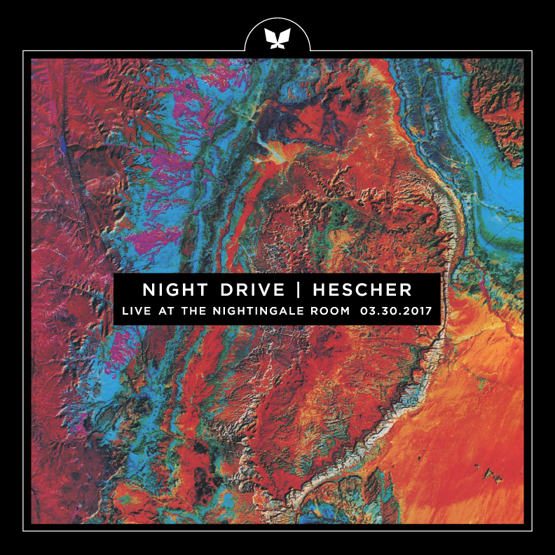 The Nightingale Room withNight Drive  - -March 30th, 2017-This was a cool spring evening supporting Night Drive, who are true pioneers. This was also Hescher's first performance.Watch Night Drive here