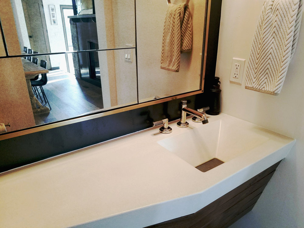 Copy of White Concrete Sink with Perforated Stainless Steel Drainpan.jpg