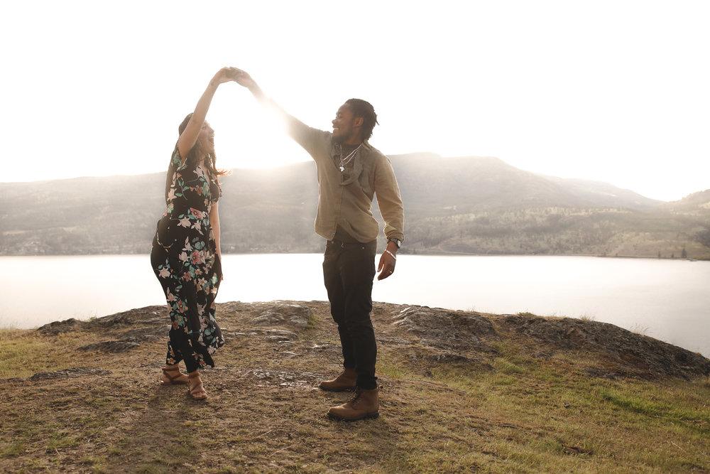 cute couple dancing knox mountain hike love photography.jpg