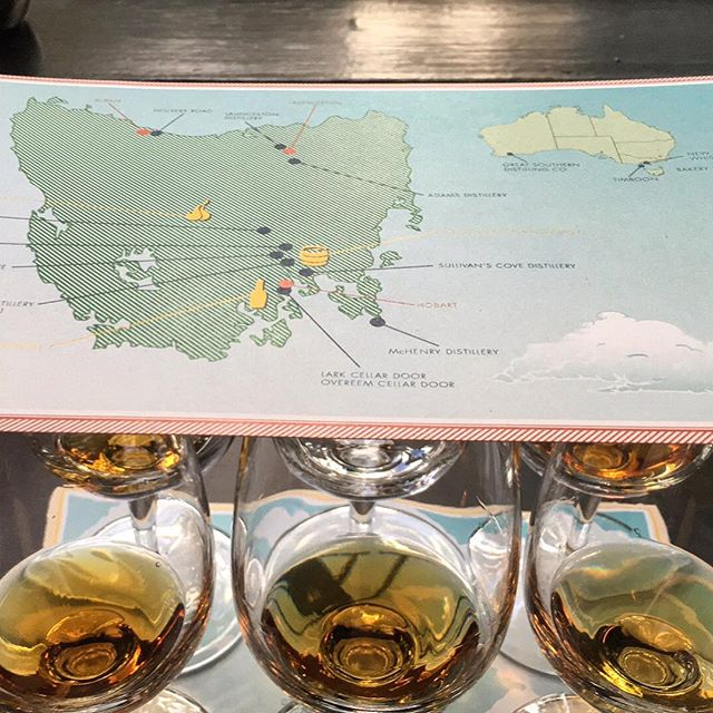 Learned a lot at the Tasmanian whisky tasting last night @whiskyandalement @melbwhiskyroom some amazing stuff although mostly unavailable #147eastco #147east #distillery #whisky #brew #coffee #taswhisky #auswhisky