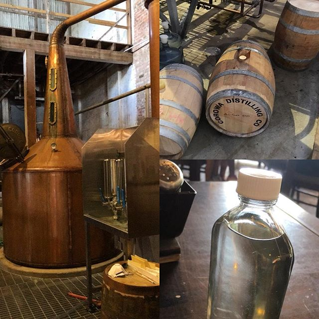Barreling my whisky @corowadistillingco #distillery #whisky #147east #147eastco #corowa #brews #unaged