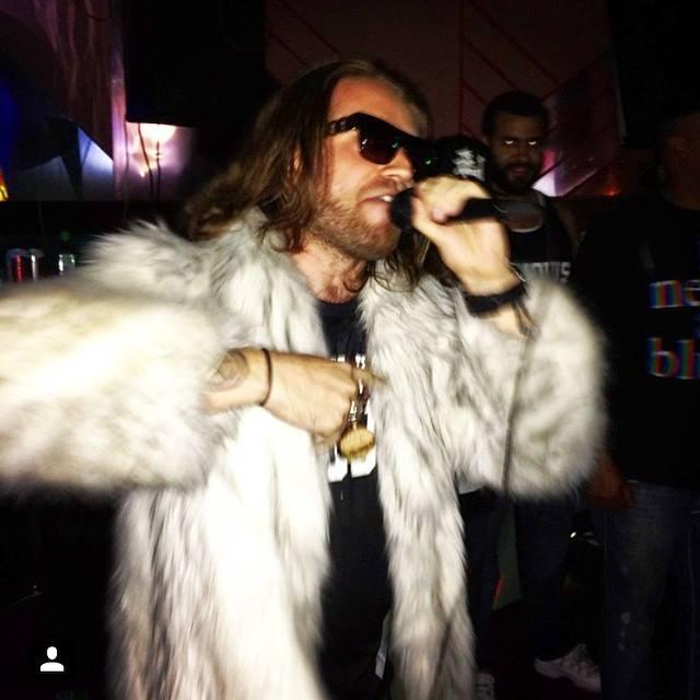 Me rapping fur coat.jpg