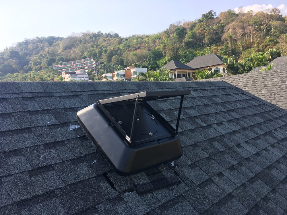 The Solar Extraction Fan