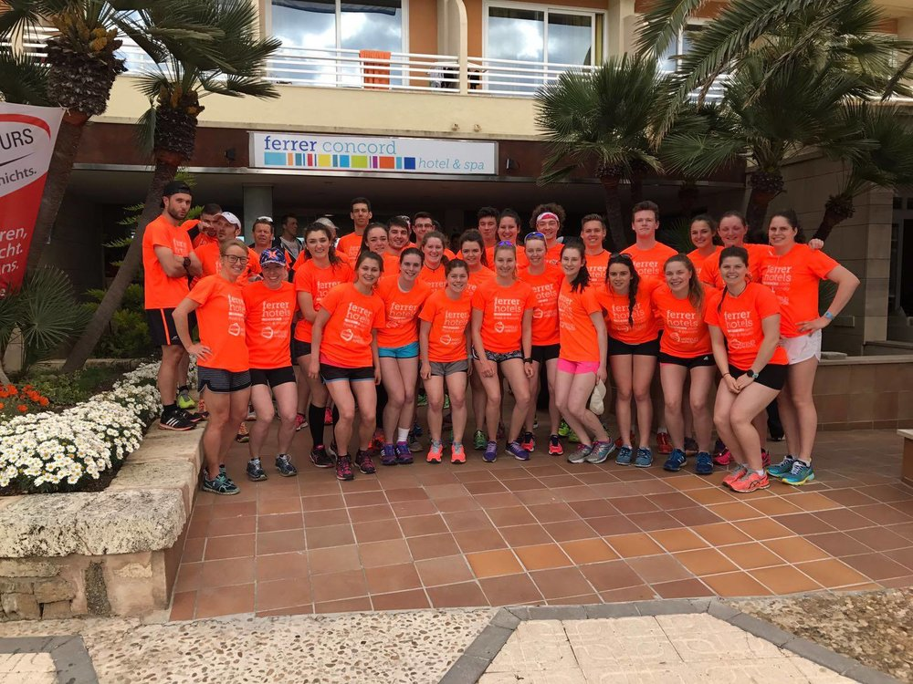 Birmingham University Triathlon Club  MArch 2017