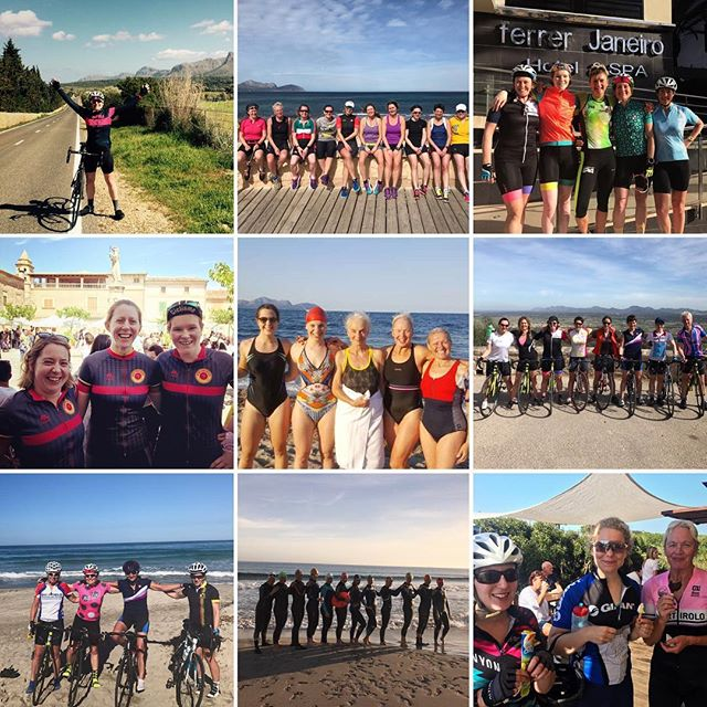 We love our #WomenOnly tri camps. They are always packed with impressive women of all ages who encourage, support and inspire each other.  We are grateful for our rockstar coaches who have helped us deliver these empowering camps and we are super excited to be back out in Mallorca for our 2018 #WomenOnly camps next month. 🏊🏻♀️🚴🏽♀️🏃🏽♀️ 👑#InternationalWomensDay • • • #QOM #womenwhotri #womencycling #womeninsport #gottotri #thisgirlcan #triathlon #uktrichat #iwd #iwd2018