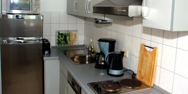 Küche Fleesensee Terrasse