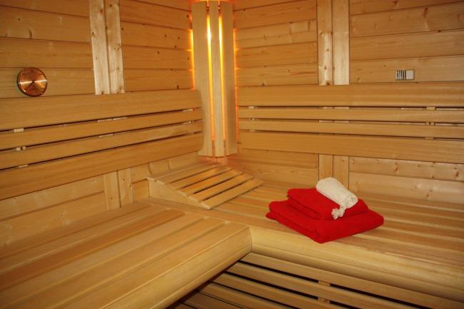 Sauna und Wellness Fleesensee Terrasse