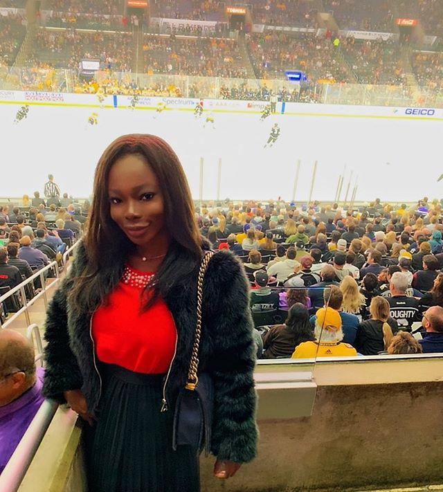 I went to the fights and then a hockey game broke out. . . . . . #datela #datesf #elitecompanion #lamodels #luxurycompanion #hockeyfan