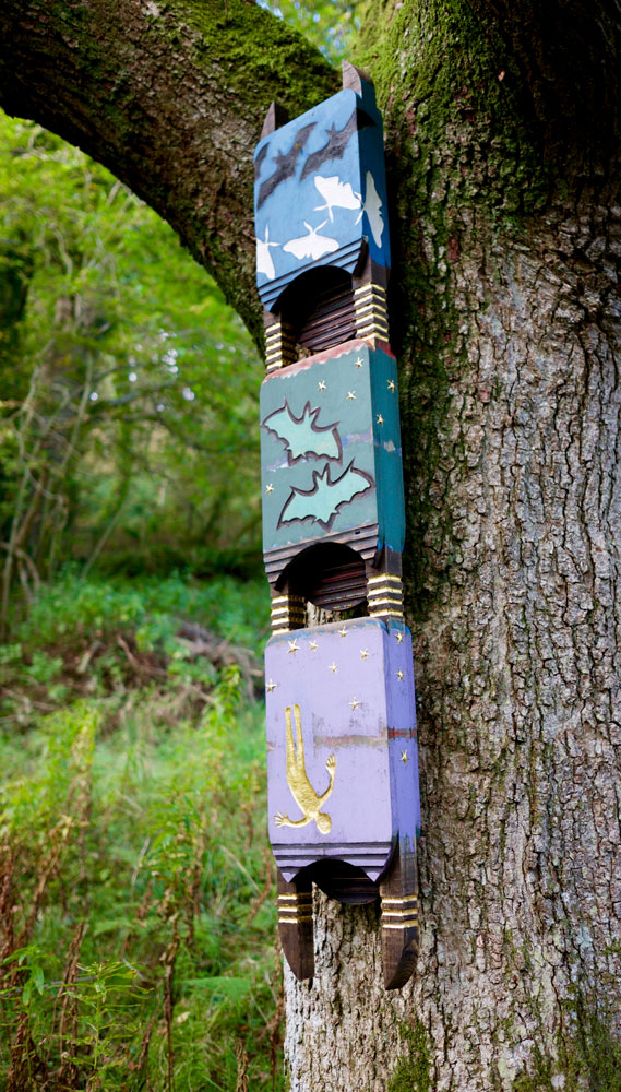 Colourful Bat Boxes