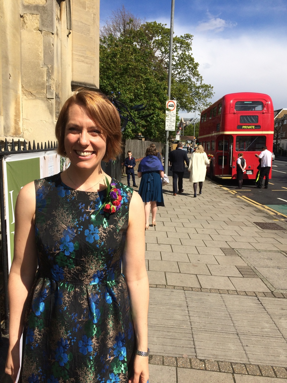 Liz Ross Martyn is a Freelance Marketing Consultant and long-time fan of standing near bus stops.