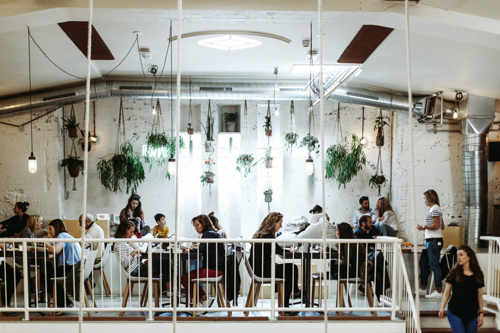 Coffee & Coconuts. One of the most beautiful co-working/cafes we've EVER seen. Fact. Photo courtesy of  Amsterdam Wonderland
