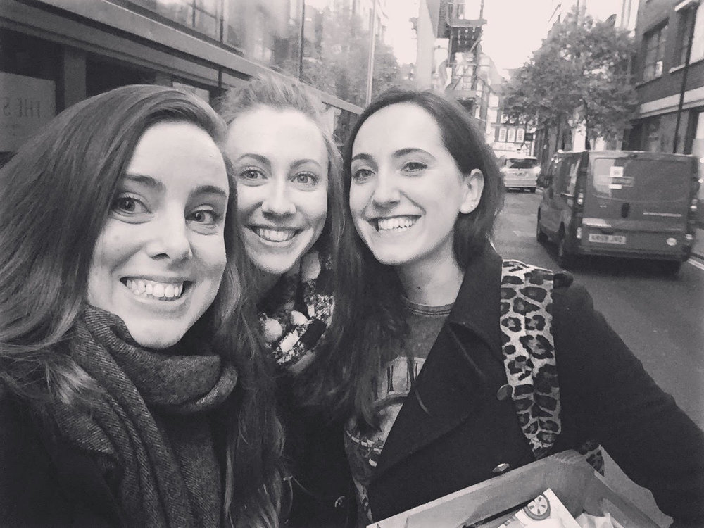 Nothing to see here... Just three Girl Bosses taking over the town.