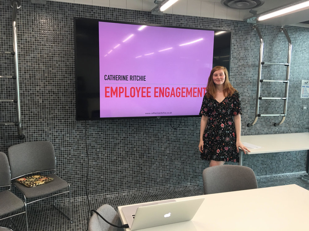 "Catherine on work place culture… - ""I don't believe there is an explicit recipe for a good culture, but my research, knowledge and experience suggest that there are some indicators as to the potential to find fulfilment and meaning in your work."""