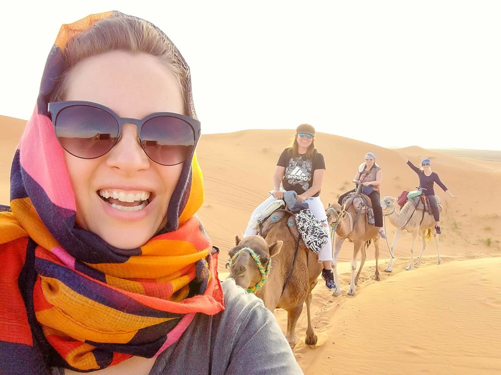 Running her own business means Ali can make sure she makes time for much needed adventures and experiences around the globe - including her recent trip to Morocco!