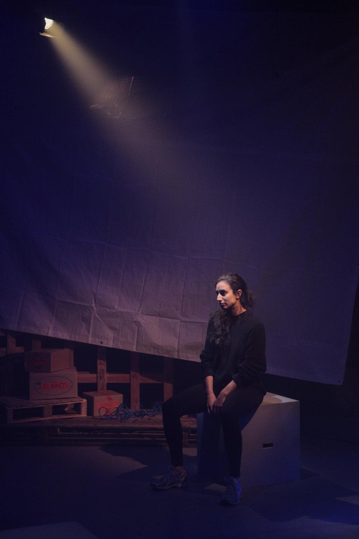 Nadia Emam Actor in Belonging Play