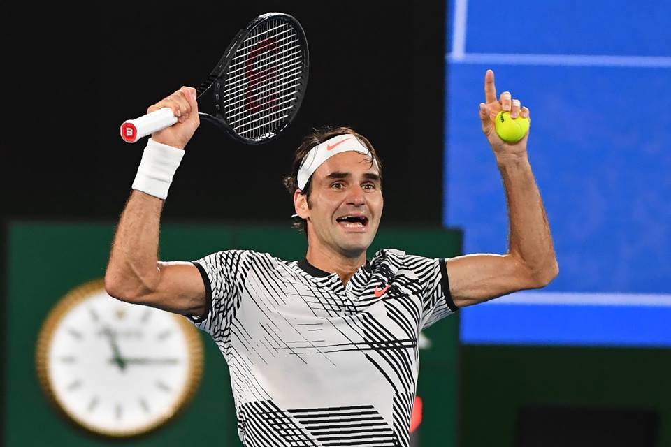ROGER FEDERER - WINS THE 2016 AUSTRALIAN OPEN - HIS 18TH GRANDSLAM
