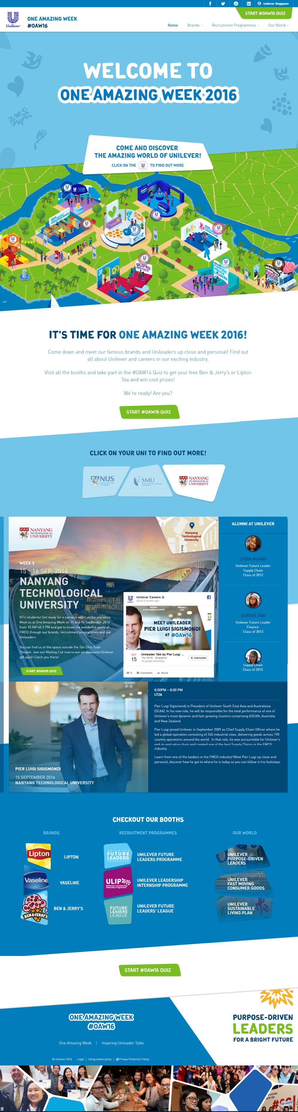 The EMMS Website Development Project: One Amazing Week - FMCG Company