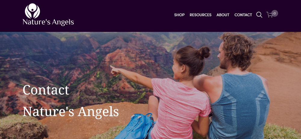 Nature's Angels - Website by The EMMS