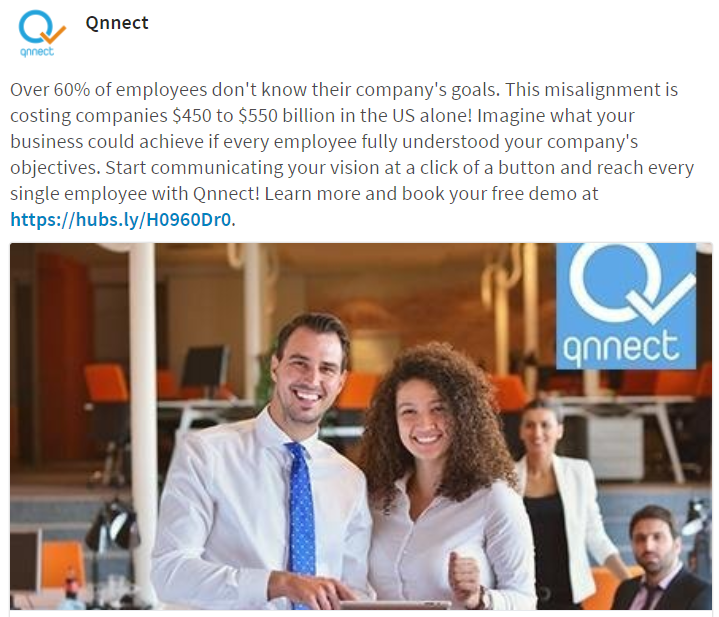 Social Media and Inbound for Qnnect by The EMMS