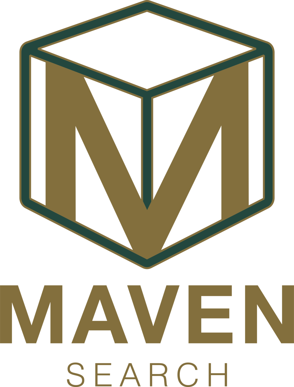 Maven Search Logo by The EMMS