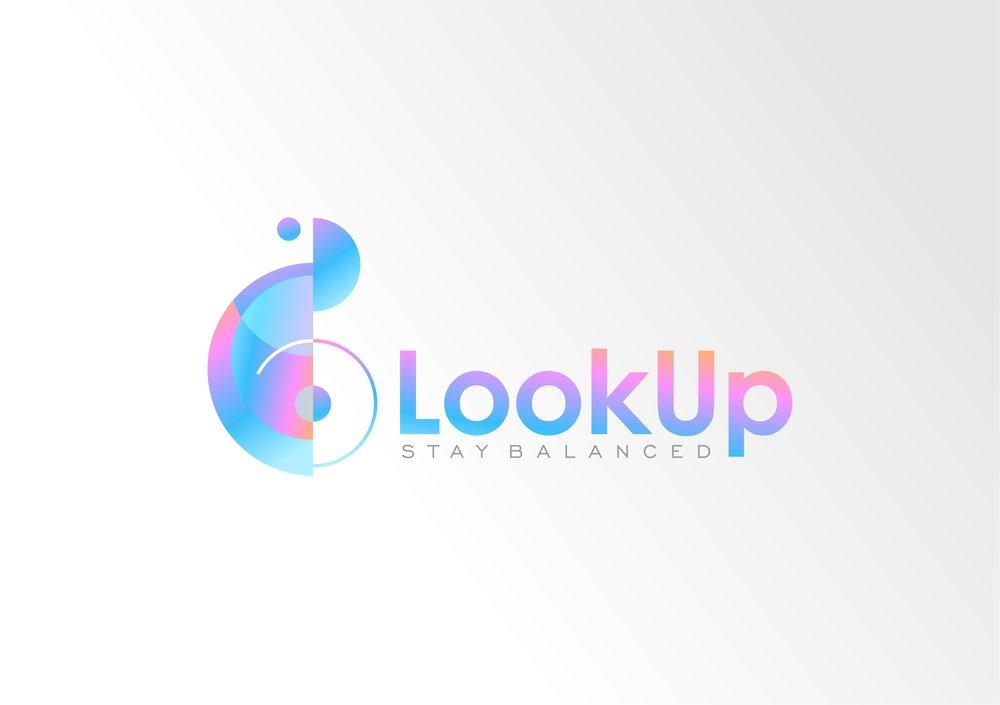 Look Up Logo Option 1