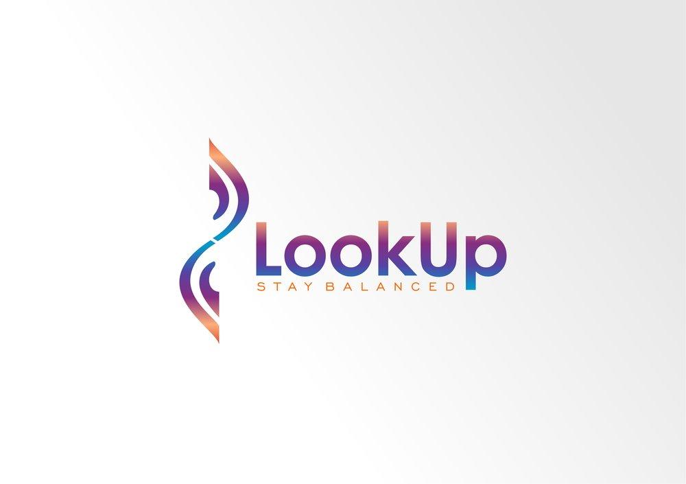 Look Up Logo Option 4
