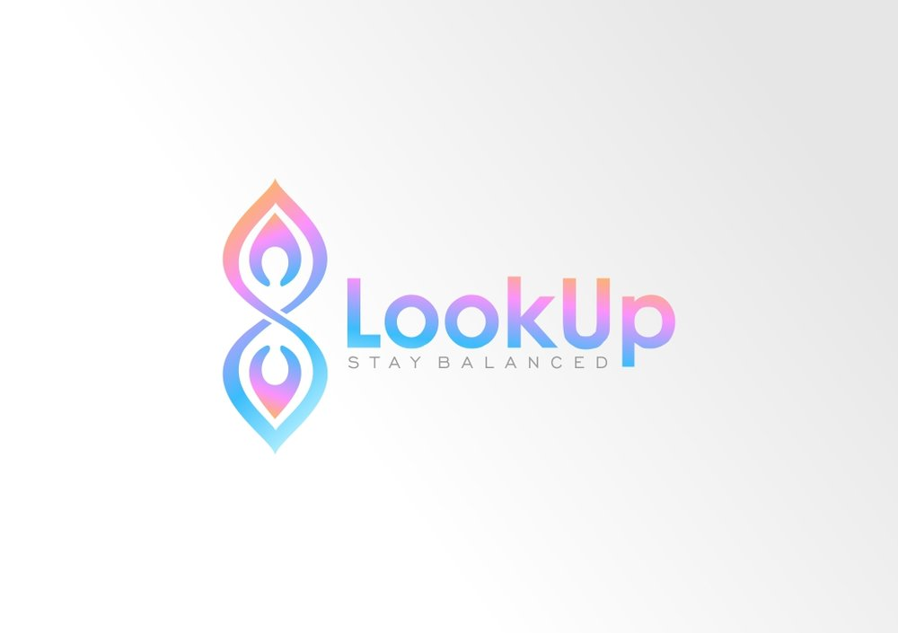 Look Up Logo Option 3