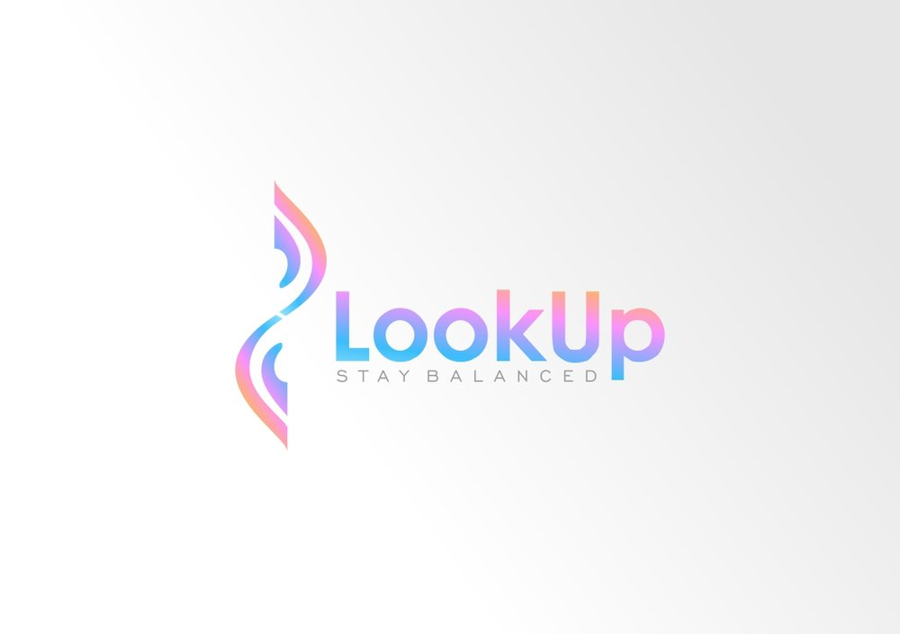 Look Up Logo Option 6