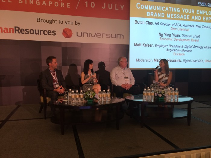 Panel moderator, Employer Branding APAC 2014