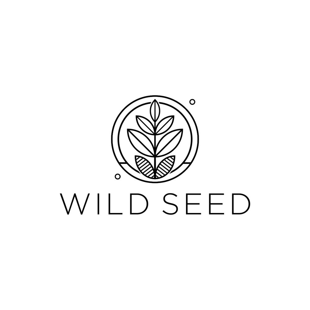 Wild Seed logo by The EMMS - On White