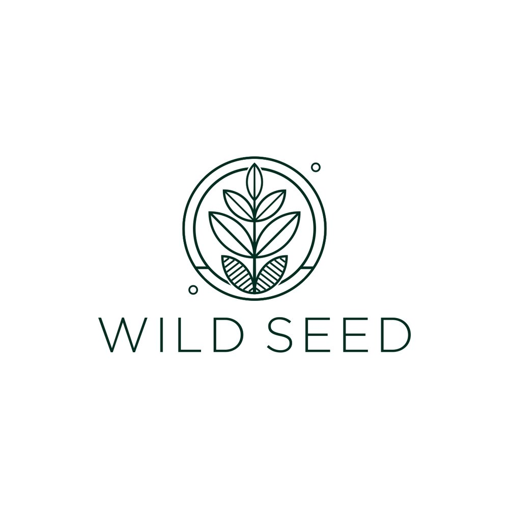 Wild Seed logo by The EMMS - Dark Green
