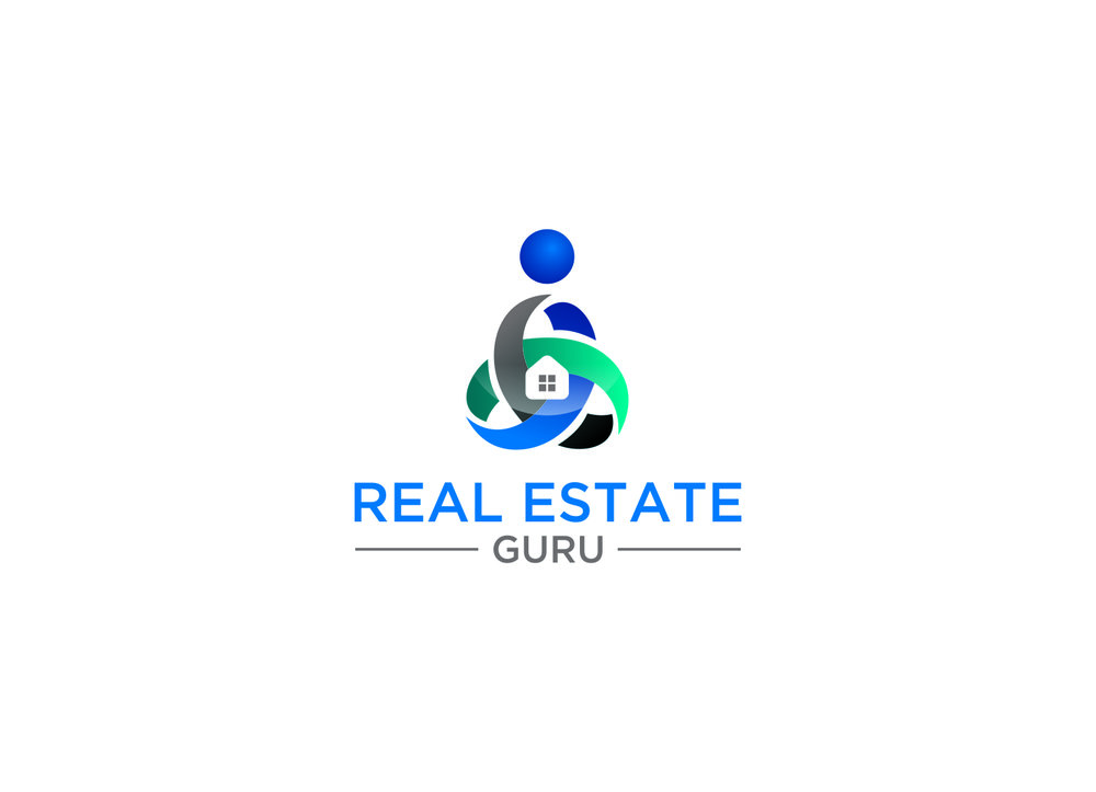 REAL ESTATE GURU logo by The EMMS - In Colour