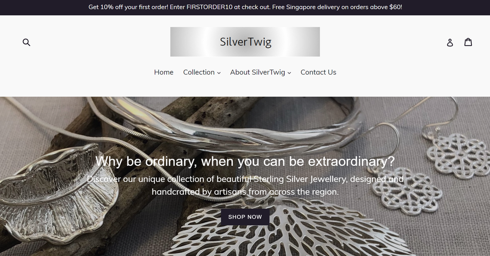 SilverTwig Website Revamp - The EMMS